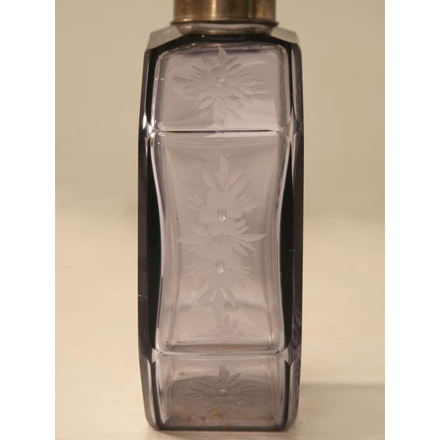 Antique French Engraved Perfume Decanter - Image 7 of 10