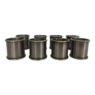 Pottery Barn Pewter Napkin Rings