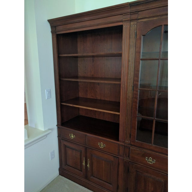 Pennsylvania House Bookcase Wall Unit - 3 Pieces - Image 6 of 10