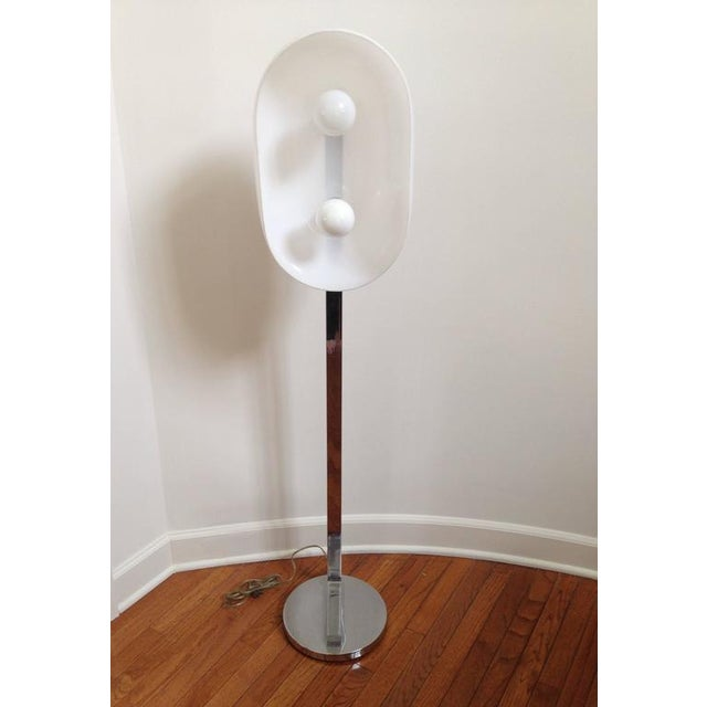 Chrome Floor Lamp - Image 3 of 10