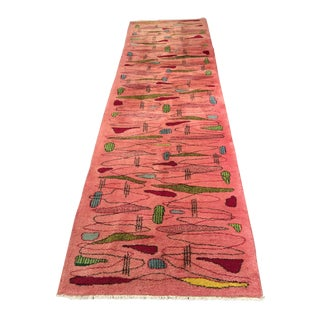 "Bellwether Rugs Vintage Turkish Zeki Muren Runner - 3'2""x11'2"""