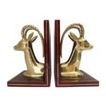 Image of Ibex Brass Bookends