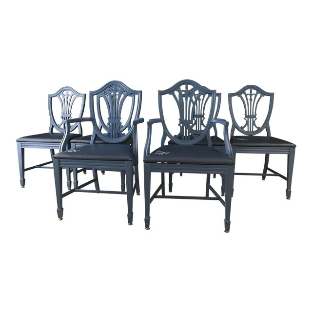 Chippendale Style Dining Chairs - Set of 6 - Image 1 of 6