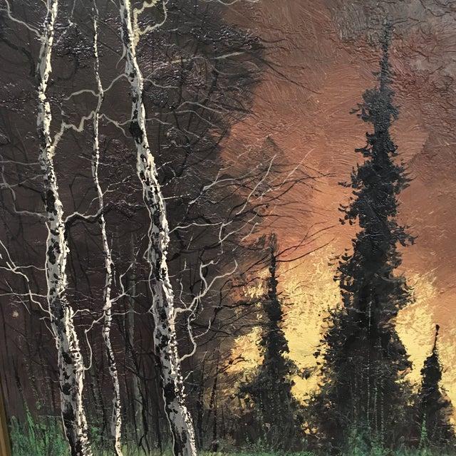 Vintage Framed Landscape Painting - Image 4 of 9