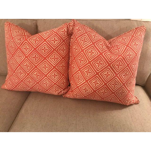 Quadrille China Seas Fiorentina Pillows - A Pair - Image 3 of 3