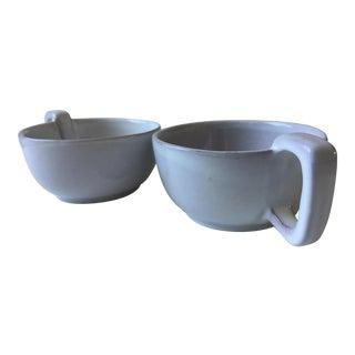 Vintage Frankoma Mugs - A Pair