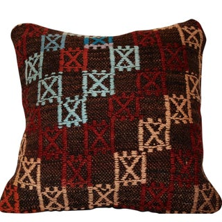 Vintage Handmade Kilim Bohemian Pillow