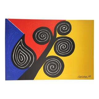 "Alexander Calder ""Autumn Harvest"" Lithograph"