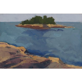 Shoodic Point, Maine Plein Air Painting