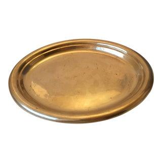 Oval Brass Tray