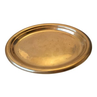 Oval Brass Tray