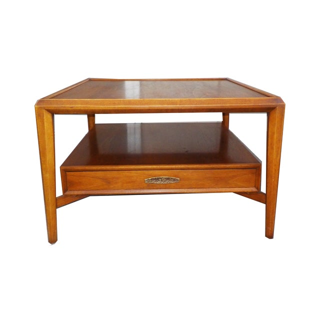 Wood Coffee Side Occasional Table By Heritage Chairish