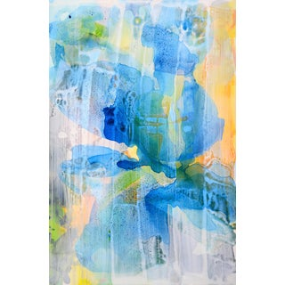 'Blue Petals 5' Original Composition