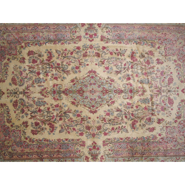 "Leon Banilivi Lavar Kerman Carpet - 9'7"" X 14'4"" - Image 3 of 6"