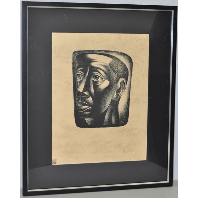 "Charles White ""Joven"" Lithograph, C.1946 - Image 2 of 7"