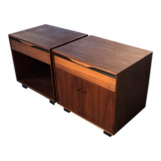 Pair of John Kapel Nightstands for John Stuart