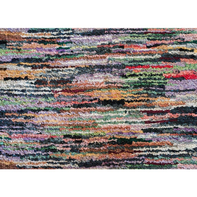 Swedish Vintage Handwoven Rug - 2′4″ × 10′2″ - Image 5 of 5