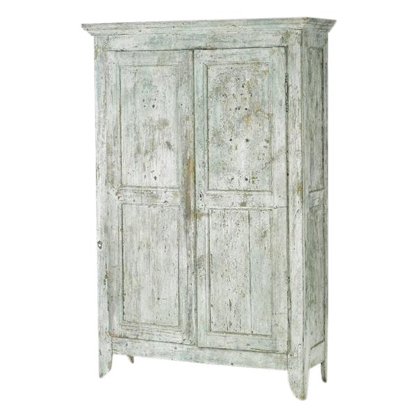 19th Century Painted Armoire - Image 1 of 5