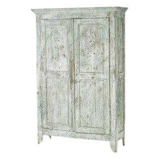 19th Century Painted Armoire