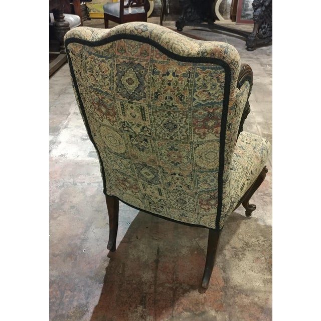19th Century Victorian Tapestry Chairs - A Pair - Image 9 of 10