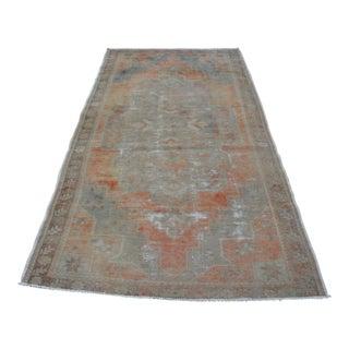 "Antique Turkish Tribal Rug -- 4'6"" X 8'7"""
