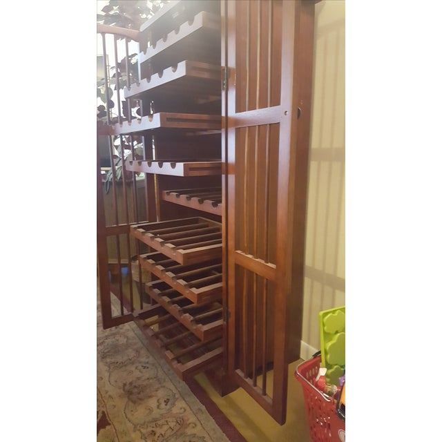 Pull-Out Wine Rack Cabinet - Image 4 of 5