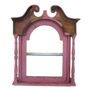 Antique Distressed Wall Shelf