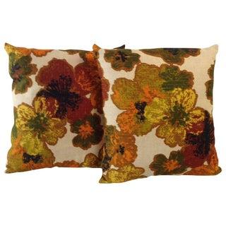 Vintage Floral Decorative Pillow