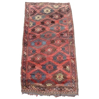 Rare Central Asian Tribal Rug
