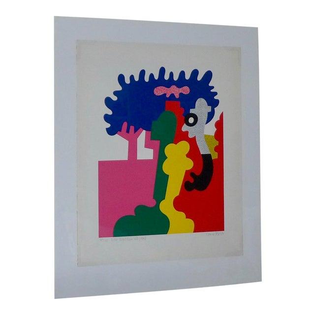 """Otmar Alt """"Der Wolken Elephant"""" Serigraph - Image 1 of 8"""