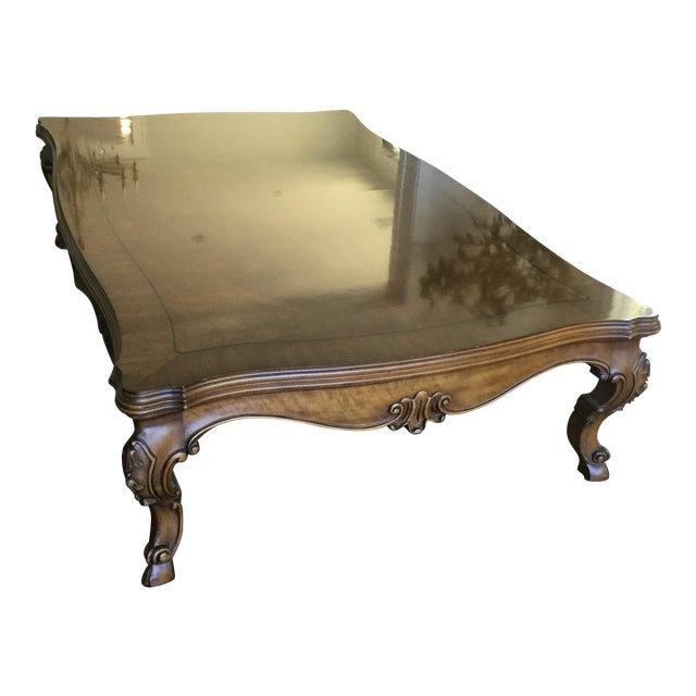 Karges Walnut Coffee Table - Image 1 of 4