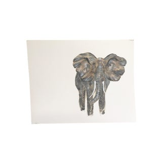 Original Elephant Painting