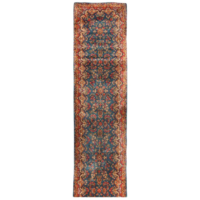 Antique Persian Kerman Runner - Image 1 of 2