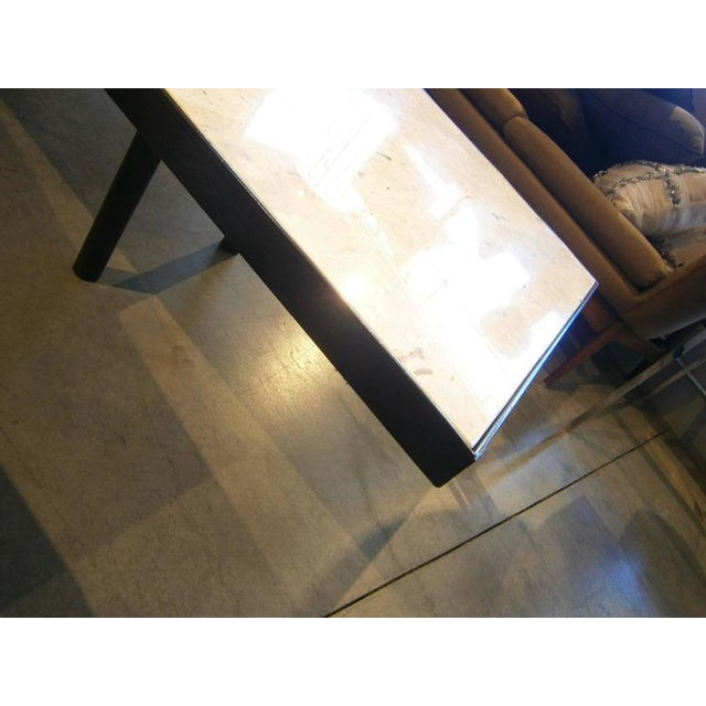 Image of Vintage Mid-Century Sofa & Boomerang Coffee Table