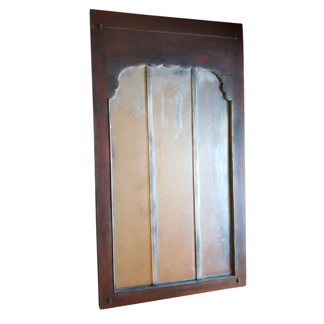 Antique Chateau Floor Mirror - Image 6 of 7