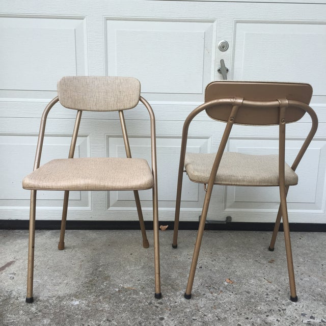 Mid-Century Stylaire Folding Chair - Set of 3 - Image 7 of 11