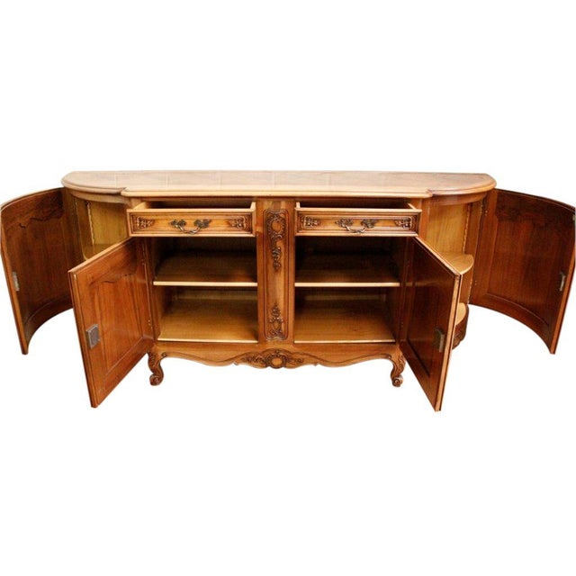 Vintage French Rococo Sideboard 1950 Louis XV - Image 7 of 8