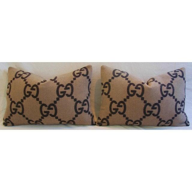 Gucci Cashmere & Velvet Pillows - a Pair - Image 5 of 10