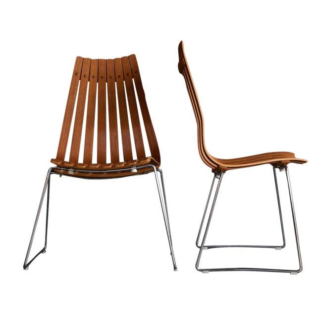 Hans Brattrud Scandia Chairs - Pair - Image 1 of 9