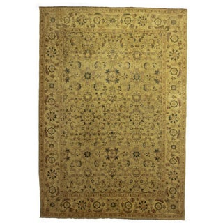 RugsinDallas Hand Knotted Turkish Rug - 9'9″ × 13′10″