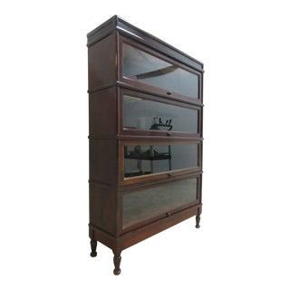 Vintage Mahogany Hale Barrister Bookcase