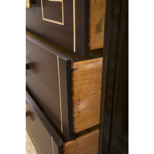 Tommi Parzinger Style Gold Detailed Sideboard - Image 8 of 10