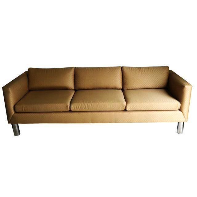 Mid Century Modern Chrome Leg Sofa - Image 2 of 9