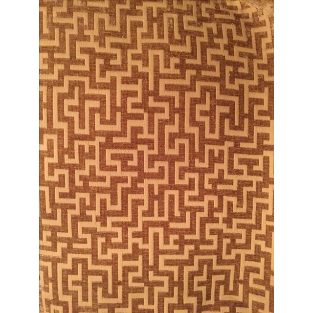 Rowland Jacquard Fabric in Flax - 9 1/2 Yards - Image 1 of 6