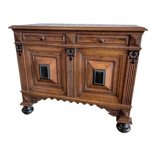 Dutch Cabinet with Ebony Inserts