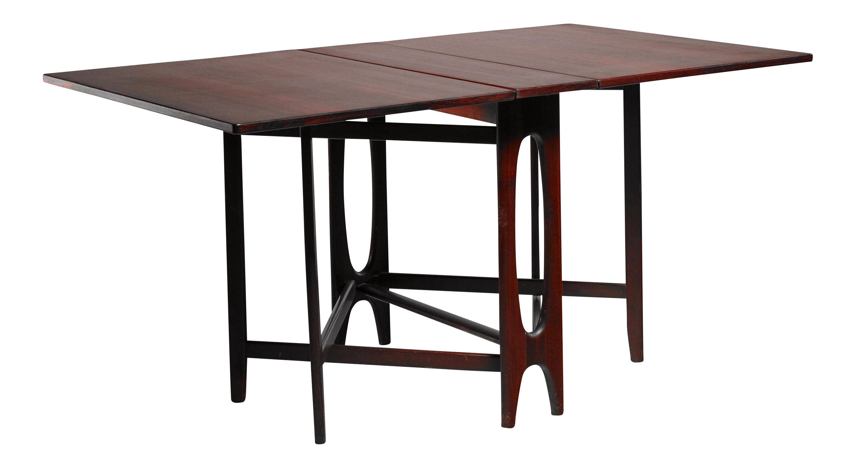 Scandinavian Rosewood Drop Leaf Gateleg Table   Image 1 Of 6