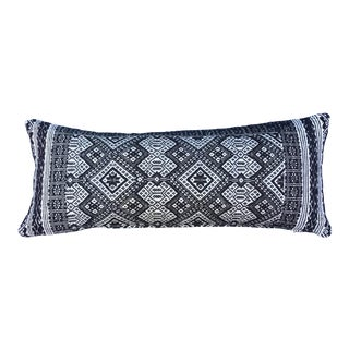 Antique Tribal Wedding Quilt Textile Pillow