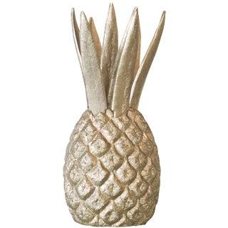 Gold Pineapple Cocktail Fork Set