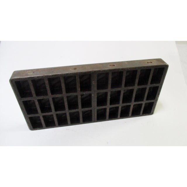 Antique Industrial Chocolate Candy Mold - Image 6 of 10