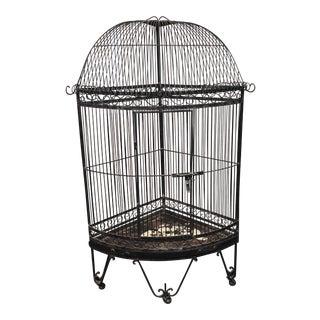 Grand Iron Corner Bird Cage